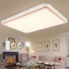 Современное освещение потолка привело солнце простого прямоугольной гостиной огней спальня лампы с дистанционными плавным затемнением 80W 925 * 665 * 100 мм лампы освещение