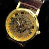 Золотые наручные часы Мужские часы 2017 Лучшие знаменитые бренды Роскошные наручные часы Мужские часы Кварцевые часы Элегантные часы