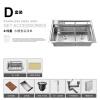 все цены на HIDEEP 304 из нержавеющей стали, кухонная мойка раковина онлайн