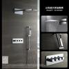 HIDEEP Настенный дождь смеситель для душа хром латунь ванной душ смеситель для ванной dikalan d2261 20