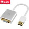 BIAZE HDMI VGA конвертер переключатель VGA адаптер проса HD проектор TV конвертер подключен кабель с алюминиевой ZH10- аудиозапись кабель vga hdmi в нижнем новгороде