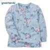Song Rui домой (greatfaimly) Большой класс одежды детей женского пола детских платья ребенок костюм платье рубашка GK173-018QP 90 guaranteed 100