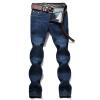 Battlefield Jeep мужские джинсовые брюки простой комфорт случайные брюки тонкой талии джинсы мужчины прямые джинсы джинсы синий Z3A56 35 battlefield 3 для ps3 онлайн