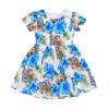 CANIS @ Baby Girls Kids Toddler Baby Flower Party Pageant Свадебные платья с короткими рукавами свадебные платья