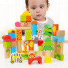 Специальный Боа (topbright) лесные блоки 50 детских игрушки блоки деревянные строительные блоки собраны подраться вставлено ребенок детских игрушек силикатные блоки в гродно