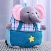 Джингдонг Зак! Плюшевые игрушки куклы дети маленький рюкзак синий Мэн домашних животных милые маленькие дети, как ку рюкзак для животных