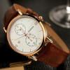 Золото роскошные модные наручные часы Мужские часы 2017 Лучшие знаменитые наручные часы бренда Мужчины Элегантные часы Классически