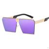 Мужские новые солнцезащитные очки UV400 Металлические защитные очки Ретро-рамка Солнц��защитные очки Мужская мода Внешний вид Солнцезащитные очки