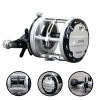 12 + 1BB Спиннинг-фидер Carp Fishing Reels Cast Drum Wheel Carp Fly Fishing Reel 4 1 carp fishing wireless bite alarm set with 4pcs fishing chain swinger indicator