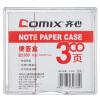 (Comix Согласованная) бумажные купюры / Бумага для заметок (кассета) (94x87mm) Color Office Supplies случайного B2360 забавные купюры в колпино