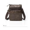 Dalfr плечо кожаная сумка натуральная кожа сумка 10 дюймов кожа сумка для брендовая мужская кожаная сумка брендовая одежда