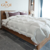 Фото GUQI Subarea Constant Temperature Goose down Quilt Down King Comforter Duvet Winter Comforter Goose Down Comforter Duvet