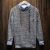 2017 новый ретро круглый набор ворот японского самосовершенствования свитера мужские рукавицы плетения свитера молодежь свитера