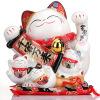 [Супермаркет] Jingdong Jinshi Mania Mania камень от тысячи миллионов в магазин открылась Lucky Cat No. копилки творческих украшений SC53415 ободки pretty mania ободок