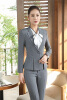 Forma Blazers Uniform Styles Ladies Office Work Wear Blazer Coat Female Tops Outwear Jackets Plus Size 4XL