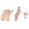 Yoursfs Cute Elephant Animal Studs Серьги для девочек Модные аксессуары для красоты аксессуары для детей