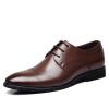 Вальх voollcci мужская обувь британской моды бизнес повседневная обувь мужская, чтобы помочь полуботинки 2323 коричневый 38