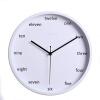 12 inch metal wall clock 30CM fashion clock silence quartz clock clock