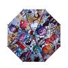 iRain Umbnella УФ солнца зонтик складной зонтик зонтик зонтик три складных зонтик винил пляжный зонт стразы Fantasia джеймс джойс зонтик
