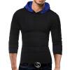 Male 2017 Brand Long Sleeve Button Stitch T Shirt Collar Slim Men T-Shirt Tops Fashion Mens Tee Shirt T Shirts XXXL easy wear men s green long sleeve t shirt