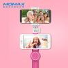 Mo Миши (MOMAX) радость селфи палочка двойная камера Bluetooth беспроводной пульт дистанционного управления рычаг селфи селфи двойная камера телефона клип Apple, Android телефоны родовое розовый монопод momax selfie mini беспроводной розовый