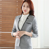 Career long sleeve plus size women blazer New OL formal slim jackets office ladies work wear uniform blazer feminino manga longa my brilliant career