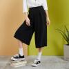 Semir (Semir) случайные брюки женщин новых осенью 2017 года женские черные широкие брюки ноги свободные брюки корейской версии был тонкий дикие черные студенты 17316260003 S elizabeth and james широкие брюки