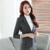 Elegant Business Formal Office Blaser Suits Wear Women Long Sleeve Feminine Blazer Clothing Ladies Vogue Top Plus Size S To 5XL kasper women s elegant evening ruched sleeve blazer 18w black