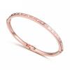 2017 100% Кристаллов из Австрии Браслет & Браслеты Розовое Золото Цвет Браслеты Женщины Моды Joyas 3 Цветов