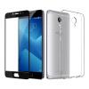 [Комплект] мембрана ESCASE оболочки Шарм Синий Note5 телефон оболочки отправить полный экран черный стальной пленка Meizu телефон устанавливает все включено ряд DROP мягкой оболочки / прозрачный