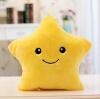 светящийся подушка  Рождественские игрушки Led  Легкая подушка  плюшевая подушка Красочные звезды детские игрушки День рождения