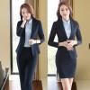 Novelty Gray Long Sleeve Autumn Winter Career Blazer Coat Formal Professional Ladies Slim Fashion Jackets Coat Outwear Uniforms игрушка ecx ruckus gray blue ecx00013t1