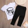 где купить дети мальчонка одежду с короткими рукавами свитер + штаны леггинсы одежду комплекс по лучшей цене