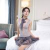 Xi Luo Man Содержит Взрослый сексуальное женское белье Nightgown плотный сексуальный костюм см ролевые игры XL код б ду frivole платье с вырезами