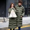 Осенний и зимний новый мужской длинный отрезок пары модели одежды мужская одежда пуховик в подарок для мужчин одежда
