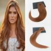 High Quality Pure Color #30 Brazjilian Remy Hair 7Pcs 120Gram Clip On Hair Extensions 100% Human Hair 100 hanks high quality black violin bow hair 6ghank 32 inches