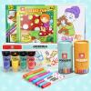 Специальный Boa (topbright) Картина Набор 12 цветных акварельных ручки детские мелки акварель кисть детские игрушки палец комплект покраска кисть bmw серии детские игрушки автомобиля детские игрушки