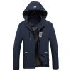 Мужчины Мужчины Мужчины Вскользь Короткие Куртки Бейсбола с капюшоном Куртки Мужские тонкие мужские куртки 17121Z7005 Blue M стандартные куртки