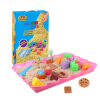 Space Sand (SPACE SAND) марсианский песок игрушка песочного цвета сила цвета песок Дети DIY пакеты ручной работа игрушка печенье MS-800G neje yw0007 2 diy puzzle toy space sand air magic clay plasticine sand for kids pink 0 5kg