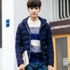 Зимняя мужская хлопчатобумажная куртка с капюшоном