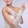 Свадебные платья кружевные перчатки белый длинный абзац невесты этикета перчатки женские свадебные аксессуары женские аксессуары