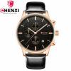 CHENXI Календарь Мужские часы Роскошные золотые кварцевые часы Мужские наручные часы для бизнеса Спорт Элегантные часы