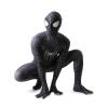черный человек - паук костюм 3D - печать Spidey Cosplay Suit хэллоуин Cosplay Spider-man Costumes cosplay