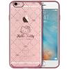 Hello Kitty Apple, 6 / 6с Плюс телефон оболочки iPhone6 / 6с Плюс мультфильм прозрачный Выдерживает падение защитный рукав оболочки покрытия 5,5 дюймов QUILTED ветер apple чехол iphone6 5s 4s 5c hello kitty