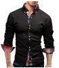 Модные мужские рубашки с длинными рукавами Топы Футболка с длинным рукавом Футболка с длинными рукавами Футболка с длин мужские рубашки с длинными рукавами