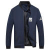 Battlefield Jeep мужские случайные короткие рубашки куртки бейсбола куртки воротник мужской моды Тонкий Мужчины куртка 17121Z7003 черный XL