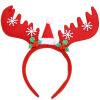 Эва Лав украшения рождества головной убор взрослых детей пантов оголовье головной убор праздник макияж реквизит красное платье tiquetonne головной убор