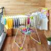 Ou Runzhe сушильные стойки двойные крылья посадки 20 складной шкаф для одежды балкон крытый одежда носки даже сушка стойка зеленый