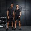 Позитивное леопард с короткими рукавами спорт костюмы мужчин и женщин фитнес беговые костюмы баскетбол одежда дышащий быстросохнущие пара моделей спортивный костюм