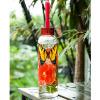 A Ting американский творческих жароустойчив стеклянные бутылки с водой, с силиконовой веревку man ting